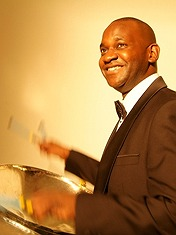 """<br><br/>With over 25 years of experience in wedding entertainment and steel pan music, Gary Trotman and Steelasophical should be your first port of call if you're questing after a true unique flava' of the Caribbean. Those seeking to be instilled with the sun, sea, sands, sights and sounds of the tropics need look no further than this well-rounded, well-equipped and well-presented troupe. Gary encourages all who are interested to book soon, as availability for this year is already scarce<br/><br/>Read his <a href=""""http://www.wedding-music-secret.com/steel-drum-band-steelasophical-6239"""" target=""""_blank"""">featured article</a><br/><br><br/><br>"""